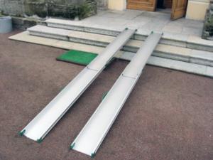 переносные телескопические рампы